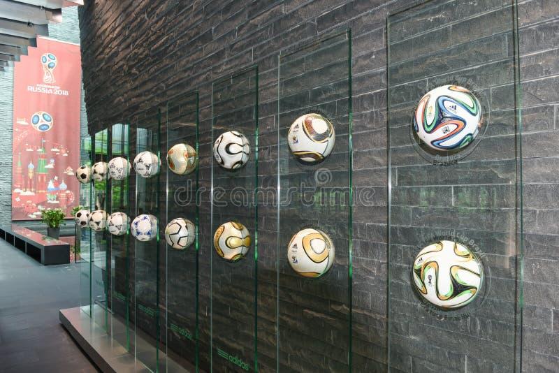 Högkvarter av FIFA på Zurich på Schweiz royaltyfri bild