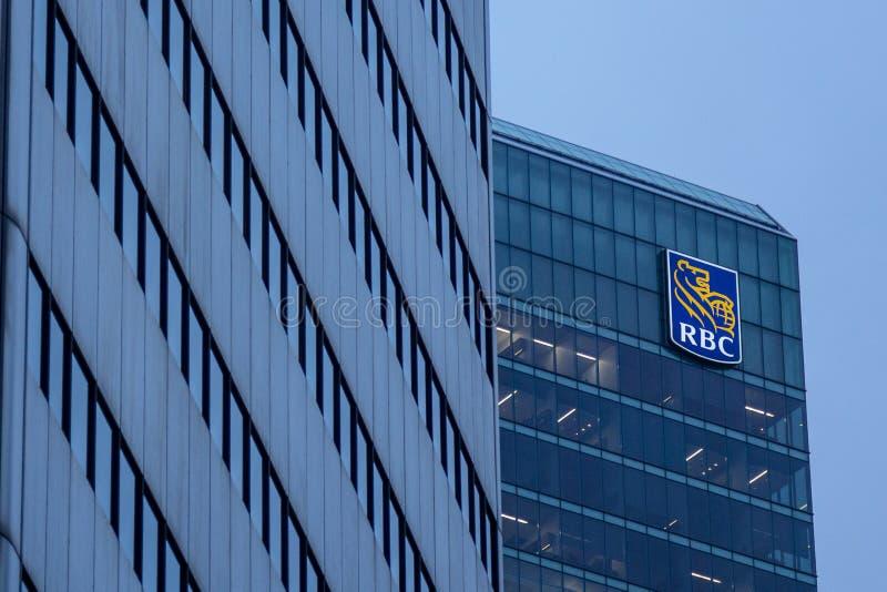Högkvarter av Royal Bank av Kanada i Toronto, Kanada royaltyfri foto