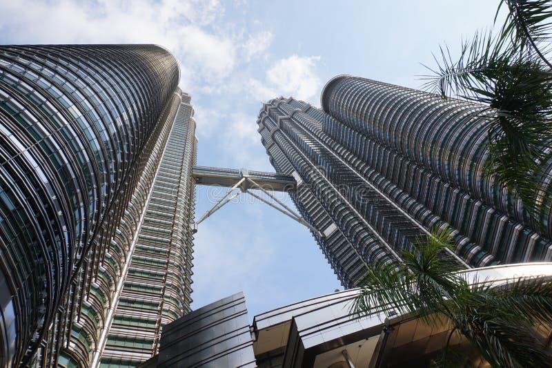 Högre byggnader Asien arkitektur byggande set arkivbilder