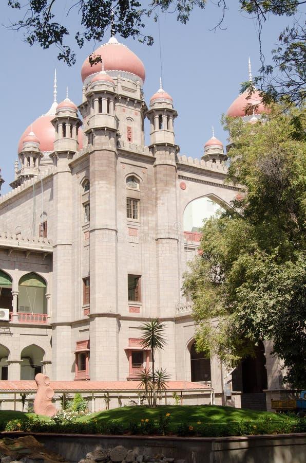Högre Domstol Hyderabad Fotografering för Bildbyråer