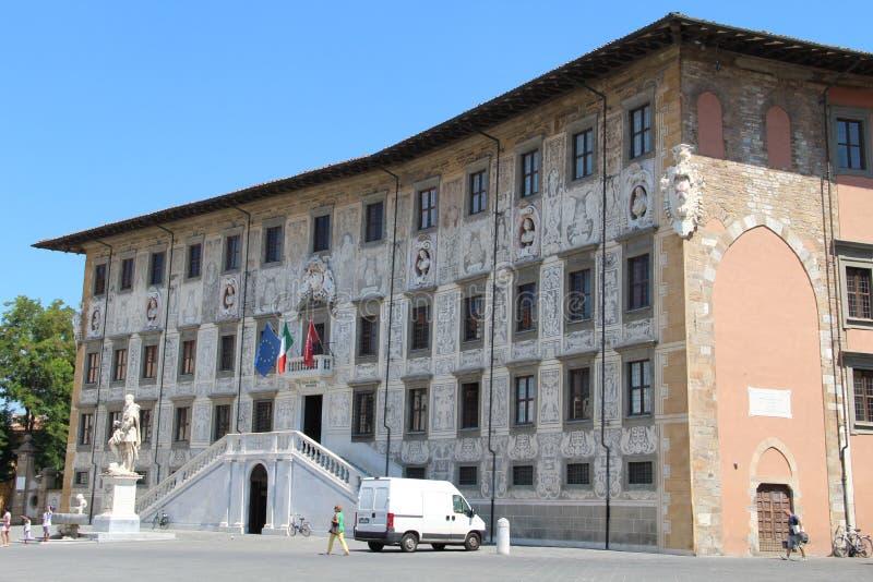 Högre normal skola i Pisa arkivbilder
