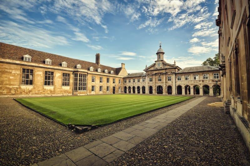 högskola emmanuel royaltyfri bild
