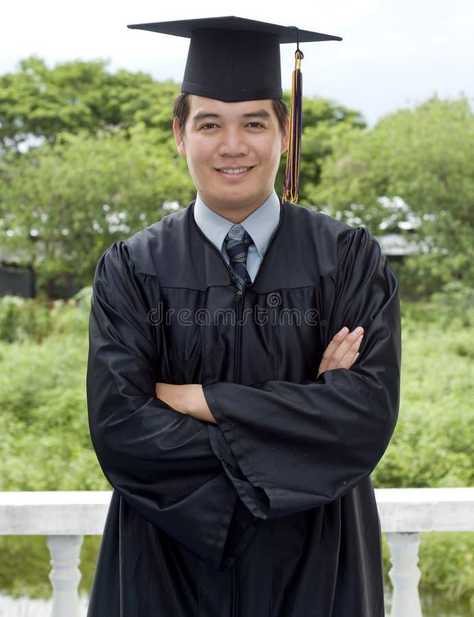 högskolakandidat fotografering för bildbyråer
