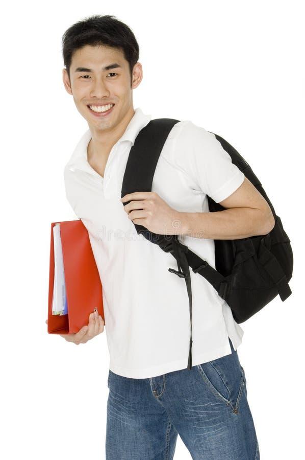 Högskolestudent royaltyfri foto