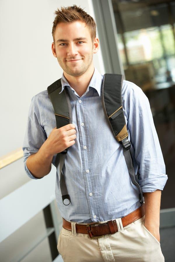 högskolestudent arkivfoto