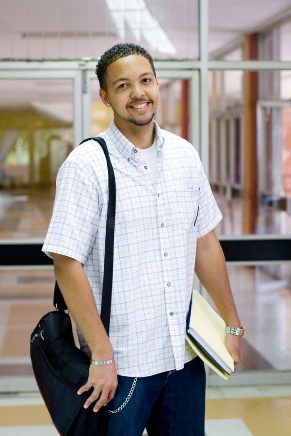 högskolestudent royaltyfri fotografi