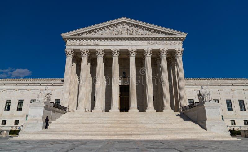 Högsta domstolen av Förenta staterna III arkivbilder