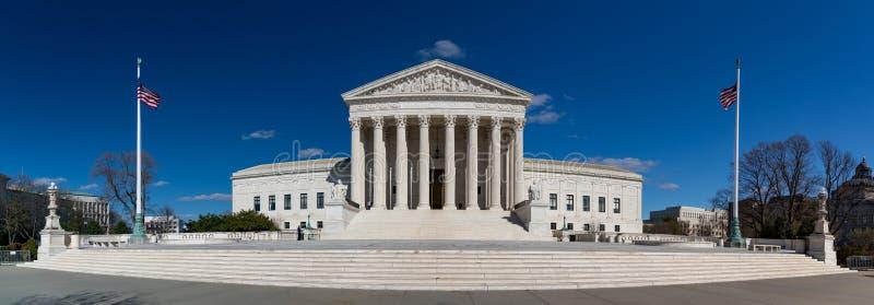 Högsta domstolen av Förenta staterna mig arkivbild