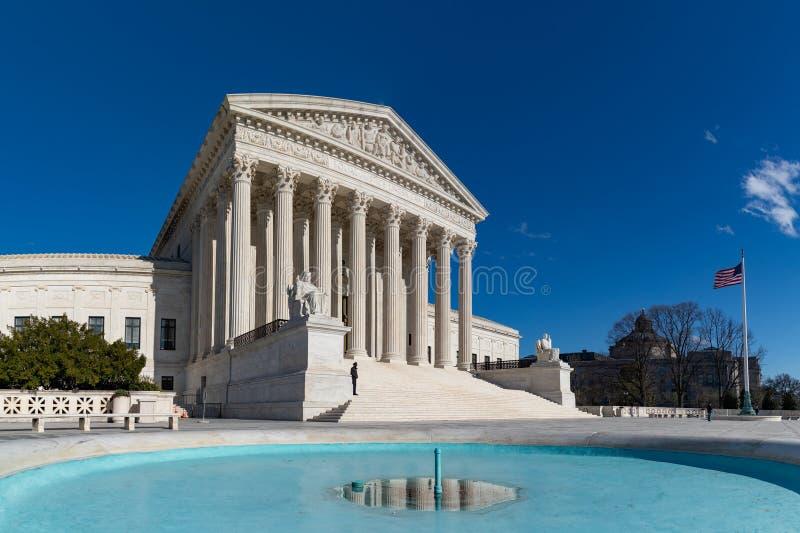 Högsta domstolen av Förenta staterna VI arkivfoto