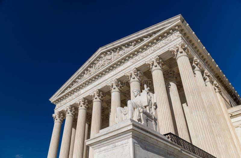 Högsta domstolen av Förenta staternadroppen arkivfoton