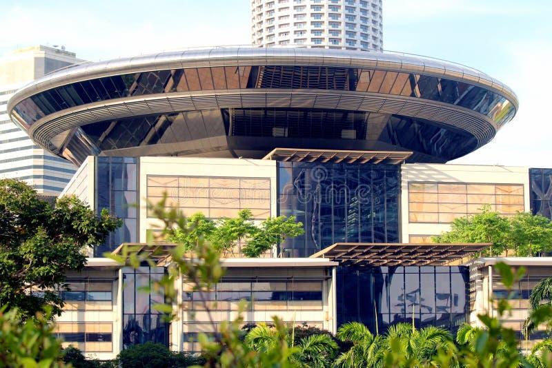 Högsta domstolen av Singapore arkivfoto