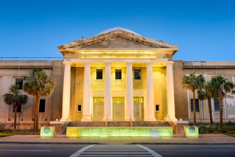 Högsta domstolen av tillståndet av Florida royaltyfri bild