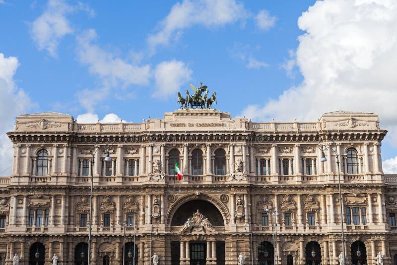 Högsta domstolen av upphävande i Rome, Italien arkivbilder