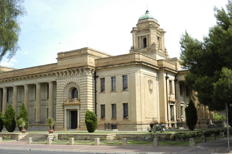 Högsta domstolen Bloemfontein, Sydafrika arkivfoto