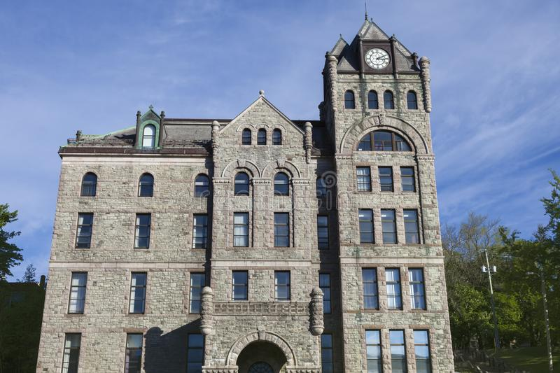 Högsta domstolen i St John ` s, Newfoundland royaltyfria bilder