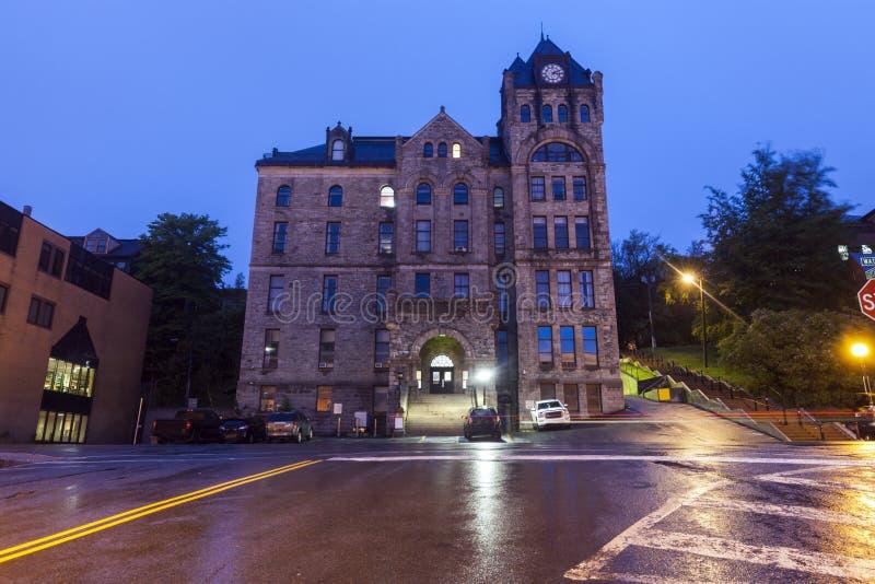 Högsta domstolen i St John ` s, Newfoundland fotografering för bildbyråer