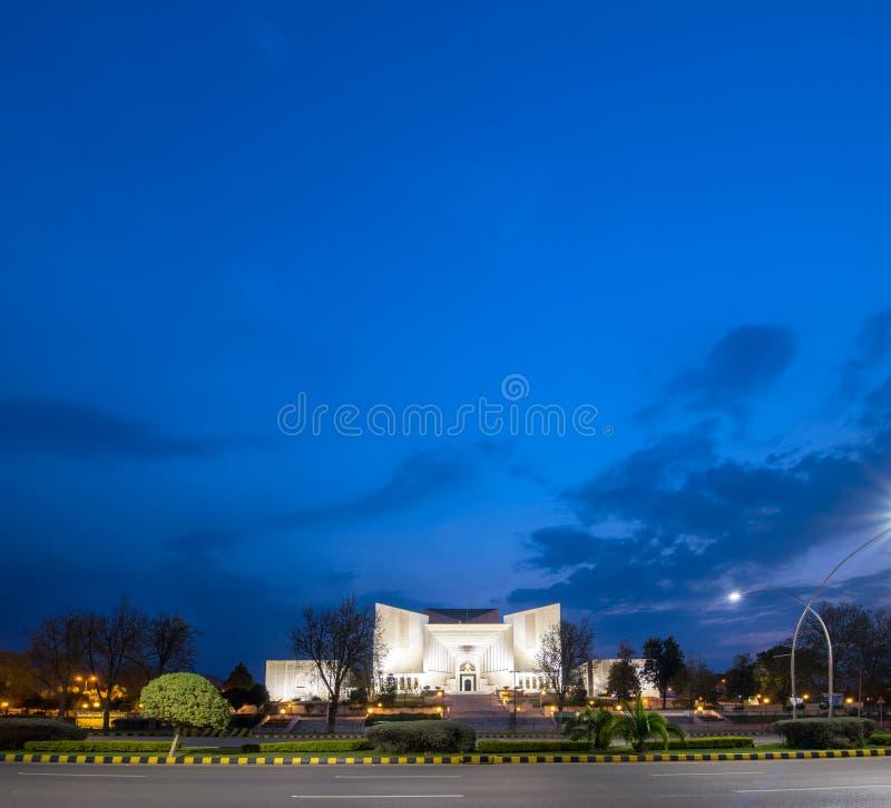 Högsta domstolen Pakistan royaltyfria foton