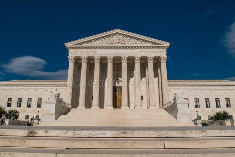 Högsta domstolenbyggnad arkivfoto
