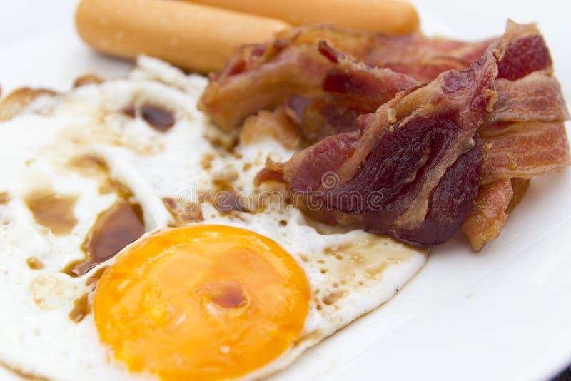 Högt - kolesterolmat arkivbilder