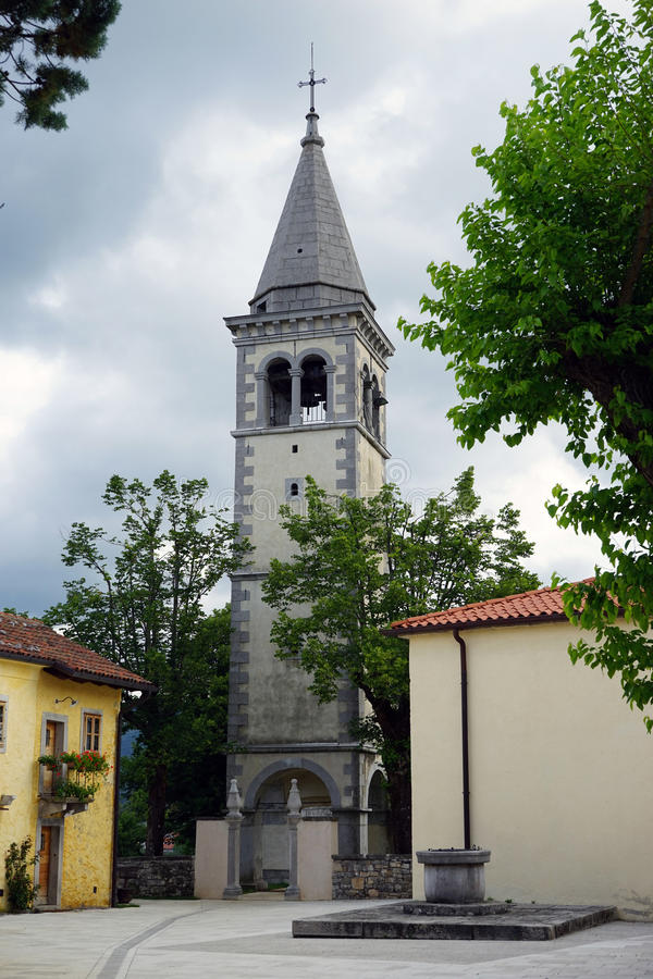 Download Högt torn för klocka fotografering för bildbyråer. Bild av vägg - 78726847