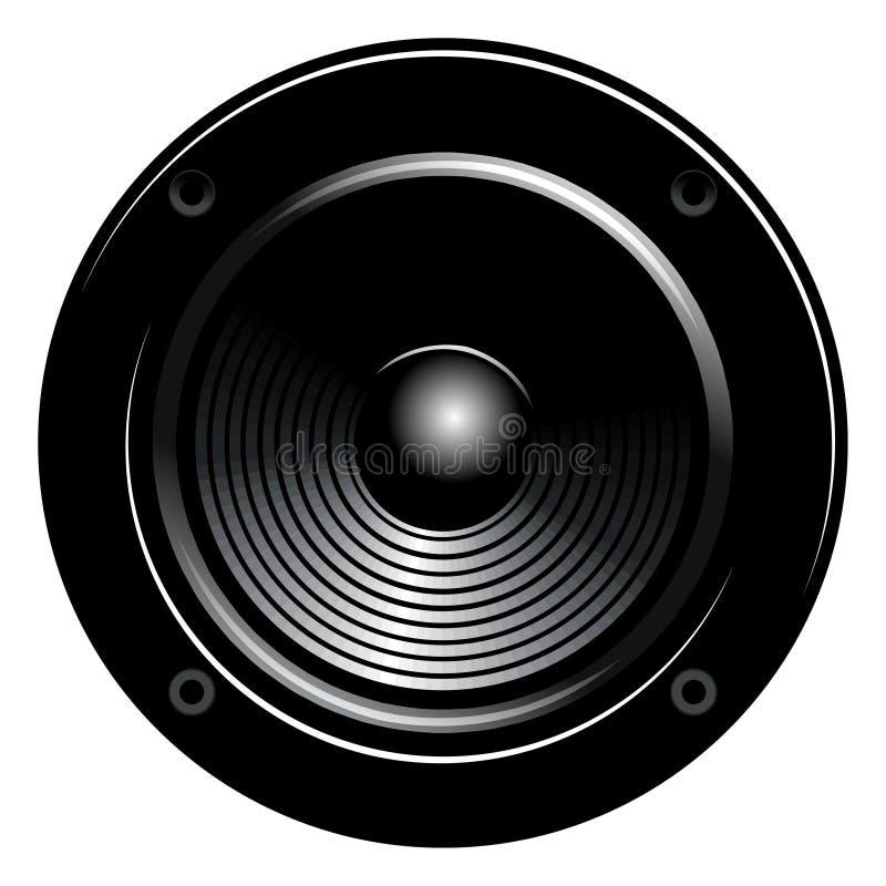 högtalare vektor illustrationer