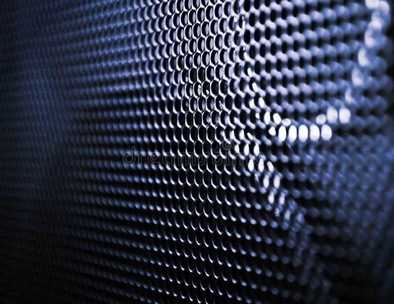 högtalare för closeupgallergrunge royaltyfri foto