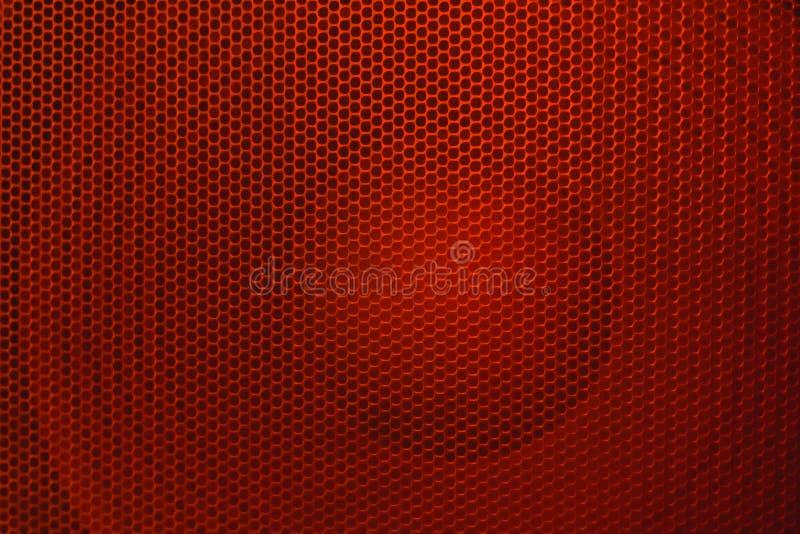 HögtalareGrillethe skyddsgaller från högtalaren arkivfoto
