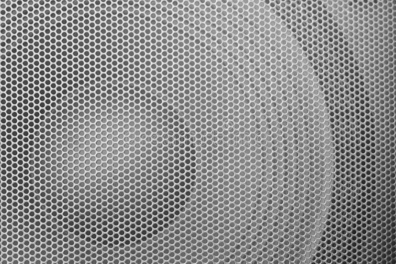 HögtalareGrillethe skyddsgaller från högtalaren arkivfoton