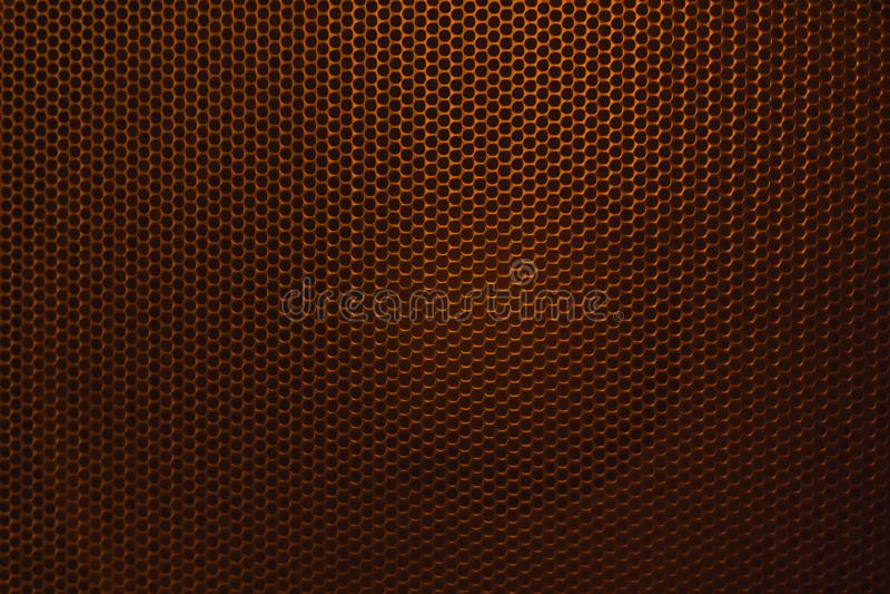 HögtalareGrillethe skyddsgaller från högtalaren royaltyfria foton