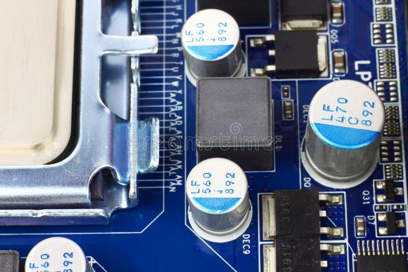 Högteknologisk datormaskinvara royaltyfria foton
