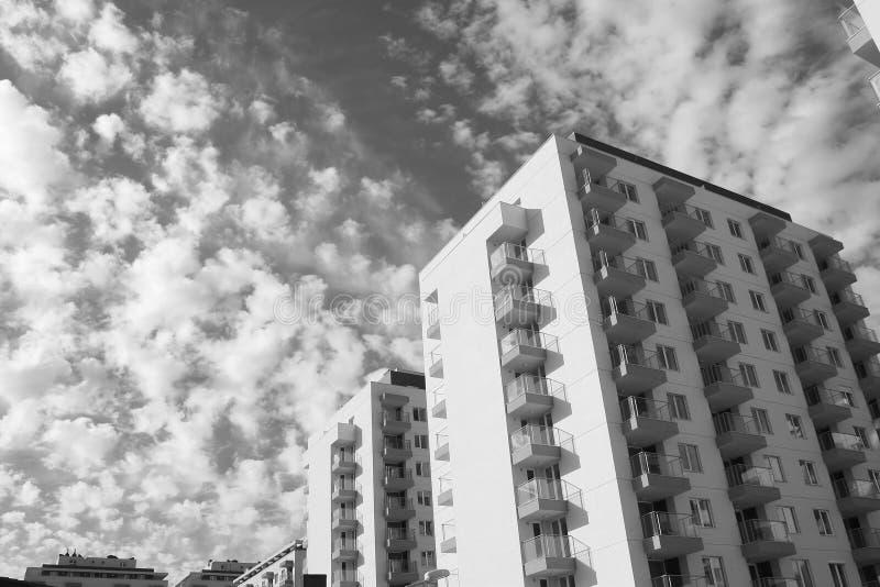 Högväxt byggnader