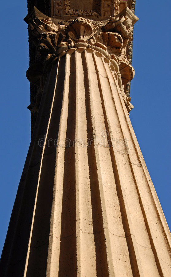 högväxt kolonn arkivfoton