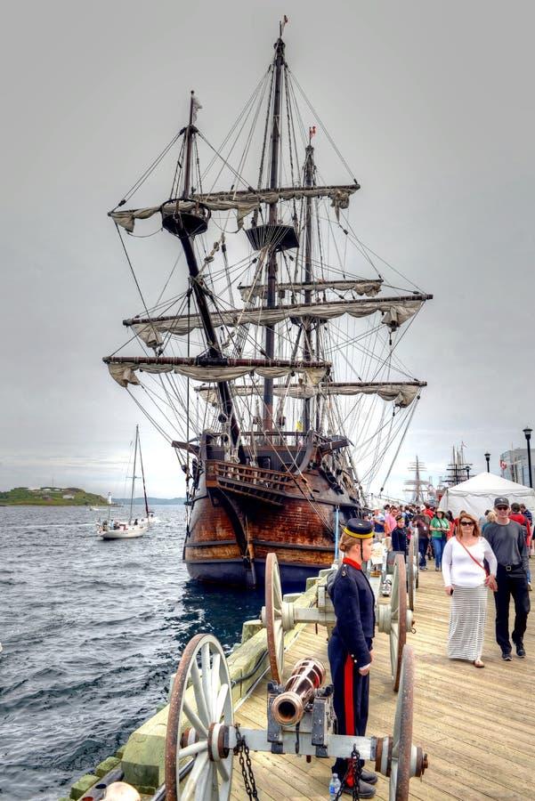 Högväxt sänder händelse i Halifax royaltyfria foton