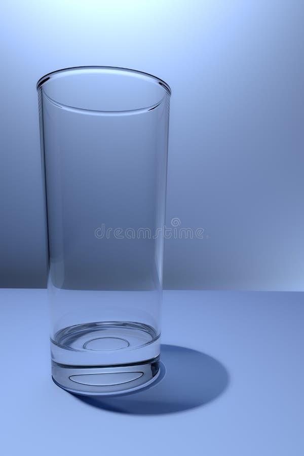 Högväxt tomt exponeringsglas royaltyfri foto