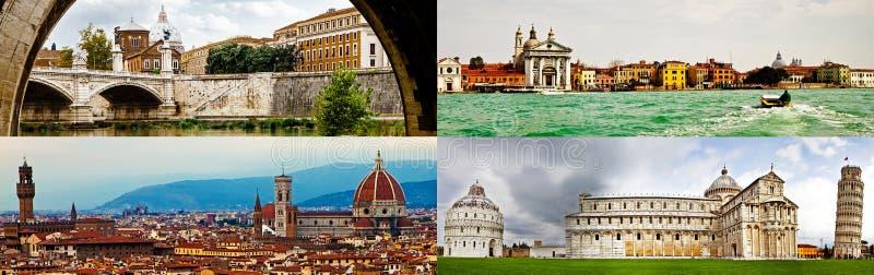 Höhepunkte von Italien-Ausflug lizenzfreies stockfoto