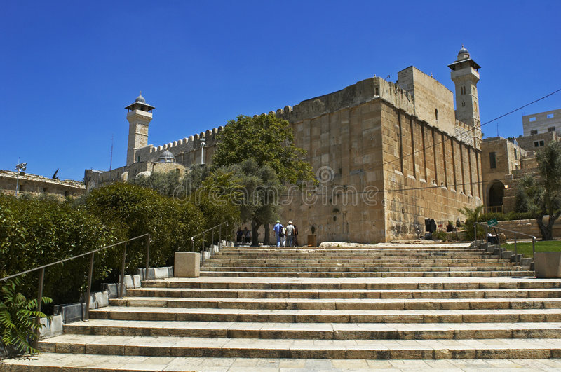 Höhle der Patriarchen stockfotografie