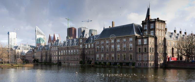 Höhle Haag. Holländisches Parlament. lizenzfreie stockbilder