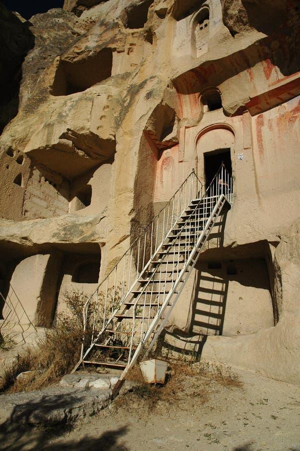 Höhlekirche CAPPADOCIA lizenzfreies stockbild