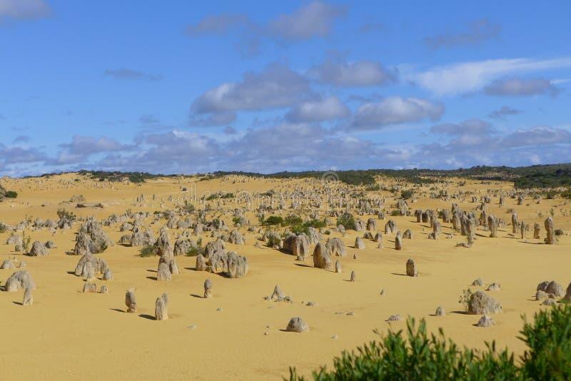 Höjdpunkterna i Cervantes på västra Australien arkivbilder