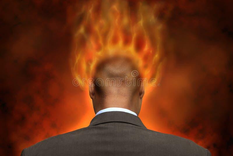 Hölle stockbild