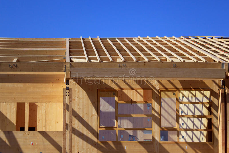 Hölzerne Architektur lizenzfreies stockfoto