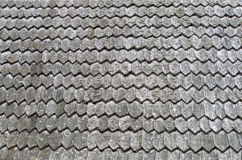 Hölzerne Beschaffenheit des alten Dachs für Hintergrund lizenzfreies stockbild