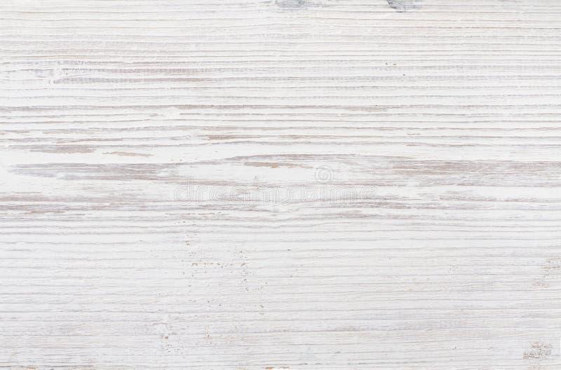 Hölzerne Beschaffenheit, weißer hölzerner Hintergrund stockfotografie