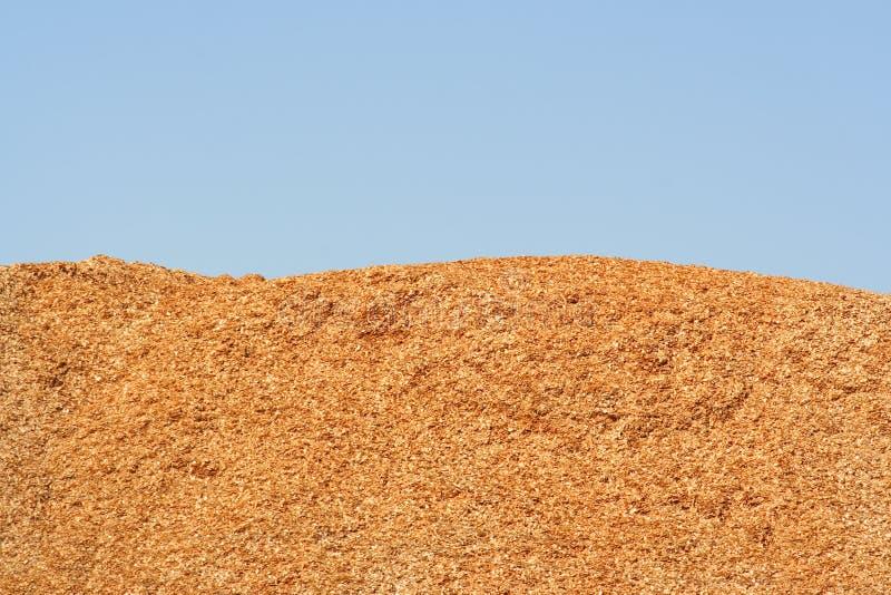 Hölzerne Chips stockfotografie