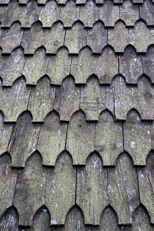 Hölzerne Dachplatten lizenzfreies stockbild