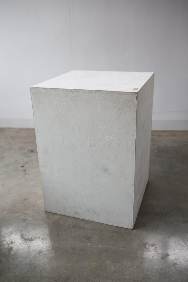 Hölzerne geometrische Formen rechteckig lizenzfreie stockbilder