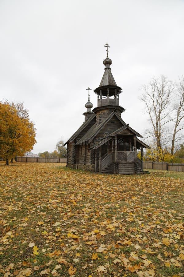 Hölzerne Kapelle stockfotografie