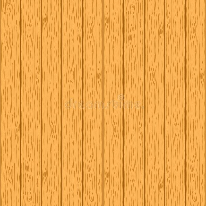 Hölzerne Kornbeschaffenheit Brown-hölzerne Planken entziehen Sie Hintergrund vektor abbildung