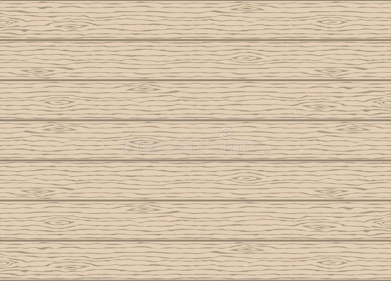 Hölzerne Kornbeschaffenheit Hölzerne Planken entziehen Sie Hintergrund stock abbildung