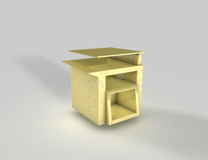 Hölzerne Möbel lizenzfreie stockbilder